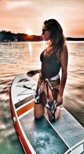 Kao Oui paddle board